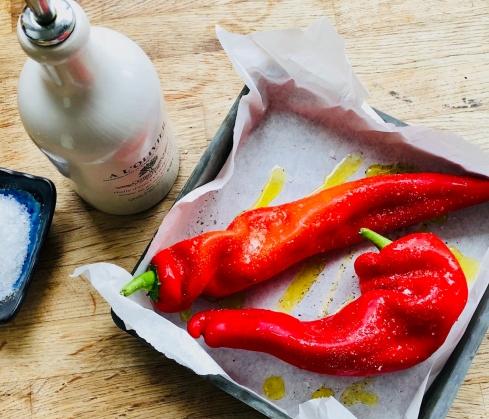 Romano peppers 1